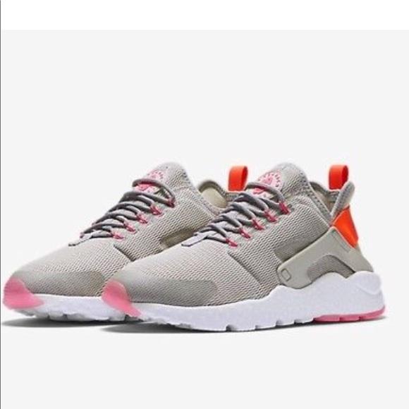 Nike Air Huarache Running Ultra Grey Pink. M 5a52bc493a112e038b005aed fec1084894cc